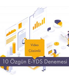 Video Çözümlü 10 Özgün E-YDS Denemesi