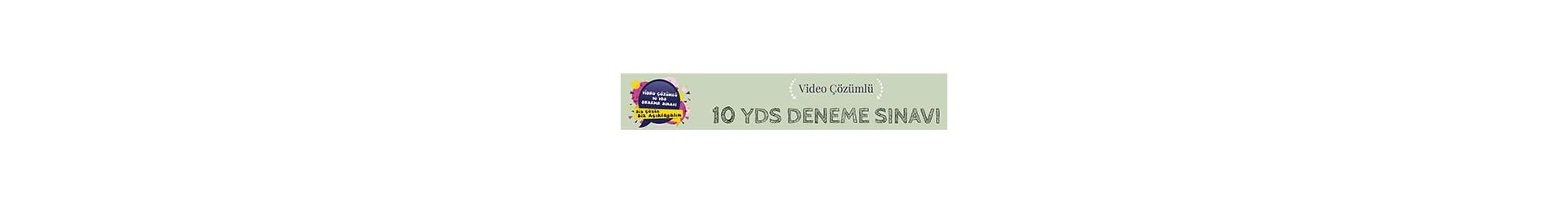 Video Çözümlü YDS Deneme Sınavları